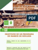 Procedimiento de Manejo y Preservacion de Nucleos en Instalaciones de Pozos