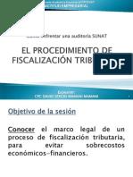 El Procedimiento de Fiscalización Tributaria
