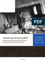 Schools and Armed Conflict