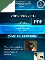 Zoonosis Viral
