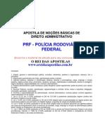 Prf Apostila Direito Administrativo