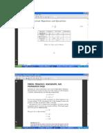 Formulas de Ondulatoria