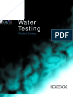 Water Testing Catalog