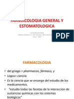 Farmacologia General y Estomatologia2011