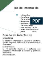 3.3 Diseño de interfaz de usuario