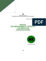 manual de aseguramiento técnico a los medios de comunicaciones
