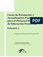 Formacion y Actualizacion Vol II Verde