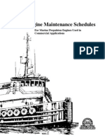 Marine Engine Maintenance Schedules LEXM6231-01