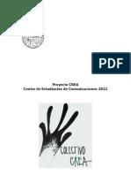 Programa Proyecto CREA Cecom 2012