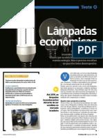 Lampadas Economic As - Proteste 105- Ago 2011
