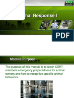 CERT PPT Animal Response I Final 071610