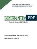 Engg Mechanics Lab
