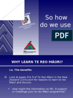 How to use TRM draft document SHOW