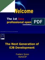 The Next Generation of EJB Development