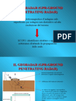 IL GEORADAR (GPR-GROUND PENETRATING RADAR