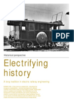 A Long Tradition in Electrical Railway Engineering