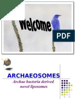 Archaeosomes