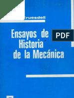 Truesdell-Ensayos de Historia de la Mecánica