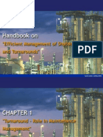 CHAPTER 01- Turnaround - Role in Maintenance Management