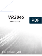 GoVideo VR3845 Manual