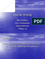 WS04- Journal Writting