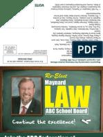 Maynard Law for ABC Unified School Board