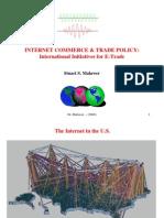 E-Commerce & Global Trade Initiatives)