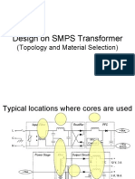 Transformer design Intro core material