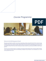 Nms Course Programme