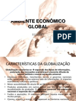 AMBIENTE ECONÔMICO GLOBAL Revisão