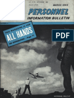 All Hands Naval Bulletin - Mar 1944