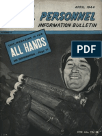 All Hands Naval Bulletin - Apr 1944