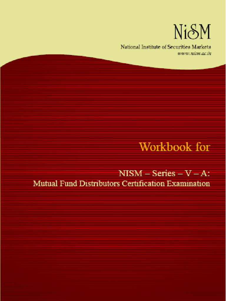 Workbooks jaiib workbook : Nism Series v a- Mfd Workbook Download v - Jul 2011 | Mutual Funds ...