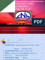 CURRICULUM DE LA EMPRESA