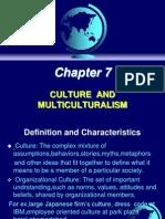 Principles Of Management - Culture & Multi Culture