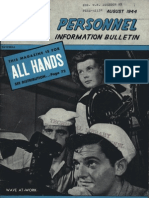 All Hands Naval Bulletin - Aug 1944