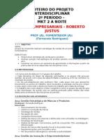 Interdisciplinar MKT 2 a Noite