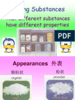 Science Year 3 - Maixing Substances