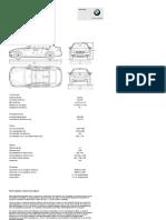BMW Serie 3 Berlina _ Datos técnicos
