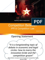 Competition between Competition Law and IPR - Ashish Chandra - Upload