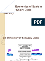 Cycle Inventory