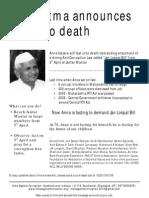 Anna Hazare's Fast Unto Death (English)v1