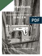 Singer 239 Manual