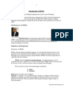 HTML Seminar Doc