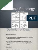 Death& Postmortem changes