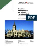 Concept Restaure Biserica Ev Sibiu