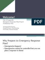 Team A Preliminary Plan Presentation Slides :