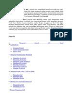 Tutorial Dasar Ms Excel