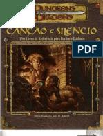 D&D 3.5 - Livro Canção e Silêncio