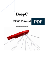 DeepC FPSO Tutorial